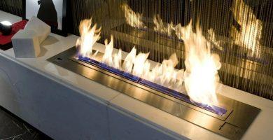 quemador de etanol